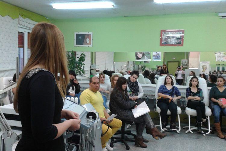 Bioestética Hiart Intxaurtieta, charlas de formación