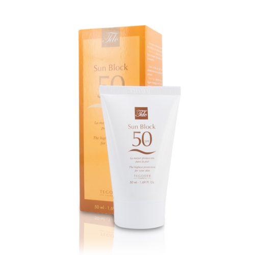 Crema solar Sun Block SPF50+